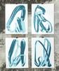 SMASH 137 - 版画 - Turquoise Hand