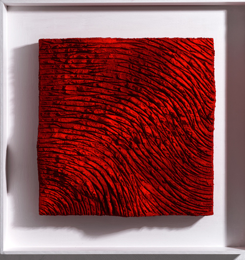 Marco ABBAMONDI - Pintura - Lands pure pigment red