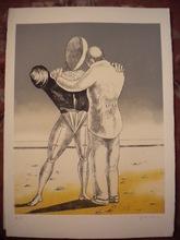 Giorgio DE CHIRICO - Stampa Multiplo - Il ritorno del figliol prodigo