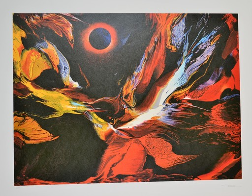 Leonardo M. NIERMAN - Druckgrafik-Multiple - Flame Burst
