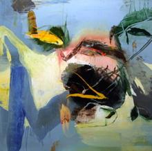 Moris GONTARD - Pintura - Le foyer migrateur