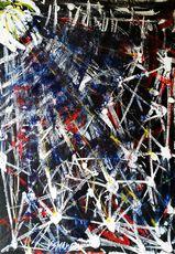 Vesna KRSMANOVIC - Pintura - Big Bang    (Cat N° 5299)