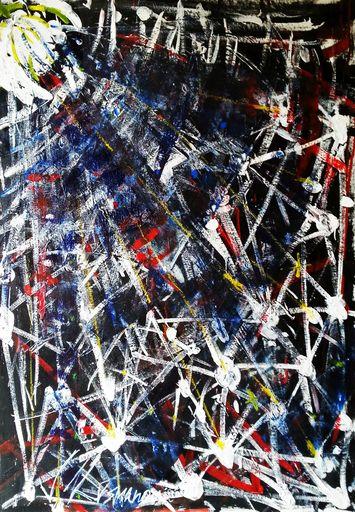 Vesna KRSMANOVIC - Painting - Big Bang    (Cat N° 5299)