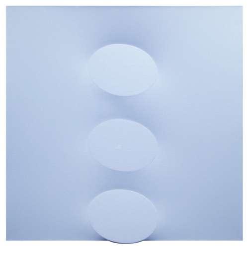 Turi SIMETI - Peinture - 3 ovali azzurri