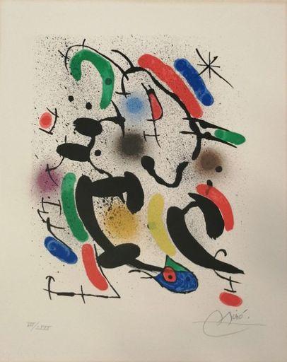 Joan MIRO - Print-Multiple - Miro Lithographe I planche 8