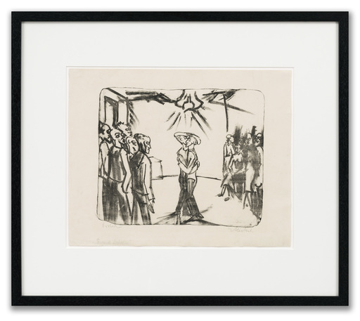 Erich HECKEL - Print-Multiple - Tanzende Matrosen (Dancing Sailors)