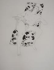 大卫•霍克尼 - 版画 - Mo Asleep