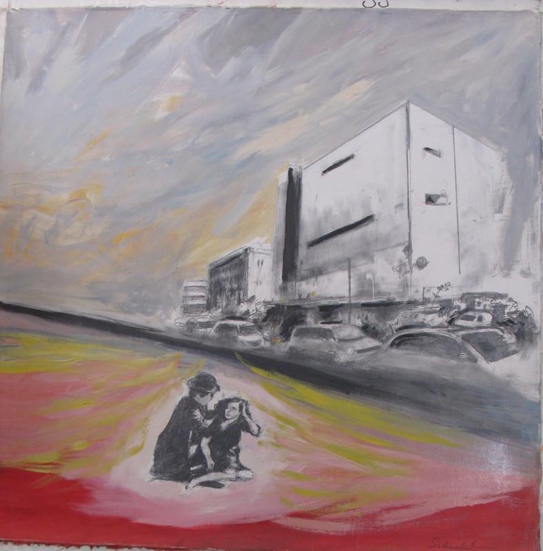 Ivan SCHWEBEL - Painting - * Untitled #3