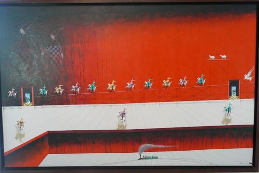 Trino SANCHEZ - Gemälde - A LA CASO DEL TREN