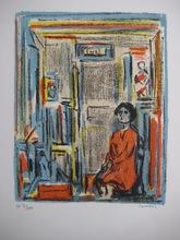 André COTTAVOZ - Print-Multiple - LITHOGRAPHIE SIGNÉE CRAYON NUM HC /XXX HANDSIGNED LITHOGRAPH