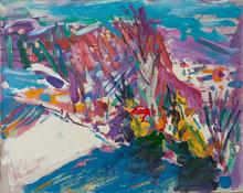 Alexander BABAK - Painting - The Landscape