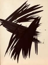 Hans HARTUNG - Peinture - senza titolo