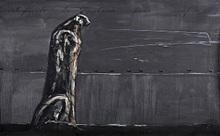 José BEDIA VALDÉS - Peinture - Contemplando la sabana para siempre