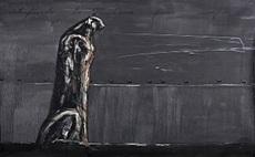 José BEDIA VALDÉS - Painting - Contemplando la sabana para siempre