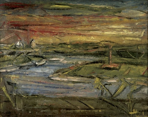 Giovanni STRADONE - Painting - Marine Landscape
