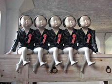DONG Mingguang - Escultura - Us-Five-Girls