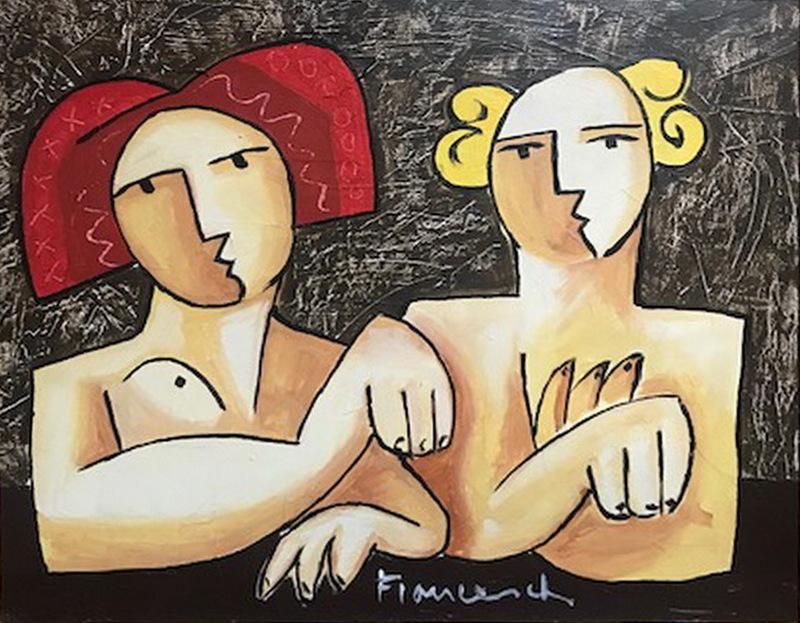 Hector FRANCESCH - Pittura - PAREJA