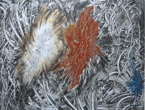 Didier ANGELS - Peinture - Adam & Eve