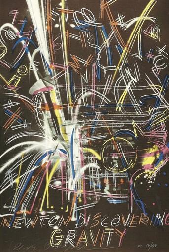 Dennis OPPENHEIM - Print-Multiple - GRAVITY  1992
