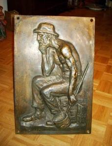 Wilhelm LEHMBRUCK - Escultura - Industriearbeiter