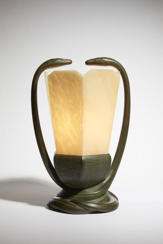 Albert CHEURET - Lampe Serpents