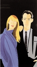Alex KATZ - Estampe-Multiple - Pas de Deux I