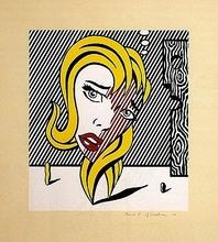Roy LICHTENSTEIN - Grabado - Blonde (Surrealist Series)
