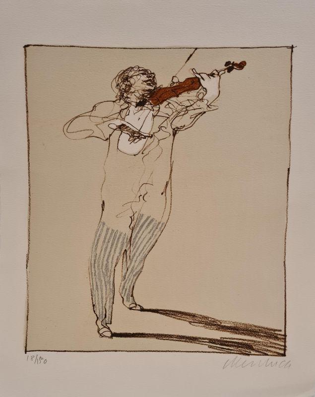Claude WEISBUCH - Print-Multiple - Petit violoniste