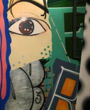CRASH - Peinture - STREET VIRGIN