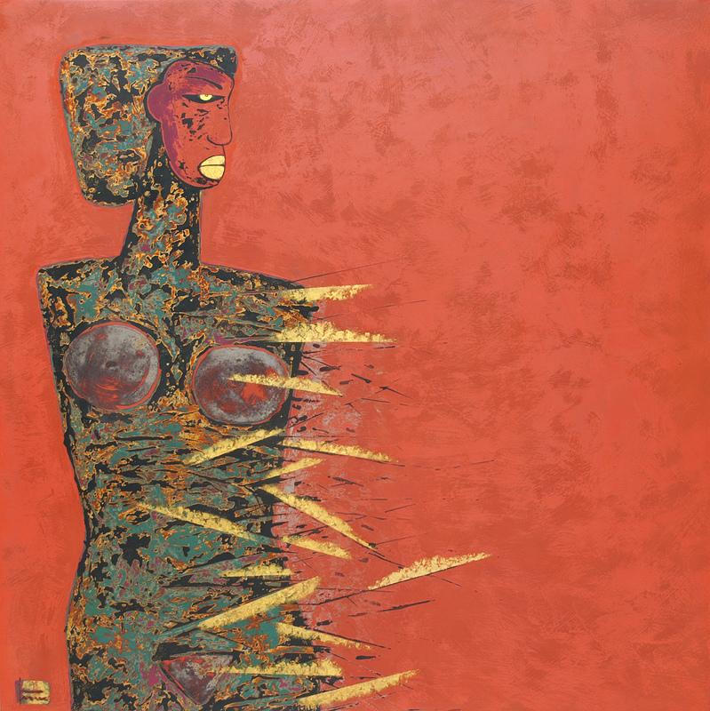 Trinh TUAN - Painting - Pain