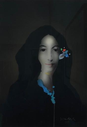 Paul WUNDERLICH - Gemälde - Mädchenbildnis