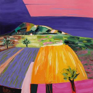 Jean-Pierre MALTESE - Painting - De tout temps sur un chemin de terre
