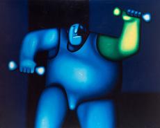Oleg TSELKOV - Painting - Sportsman