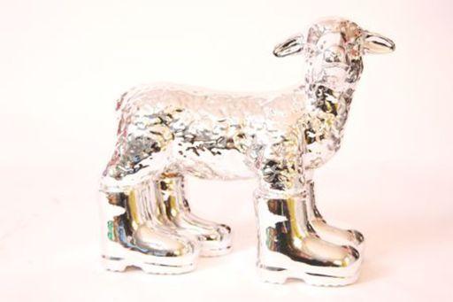 William SWEETLOVE - Estampe-Multiple - Cloned SILVER porcelain lamb