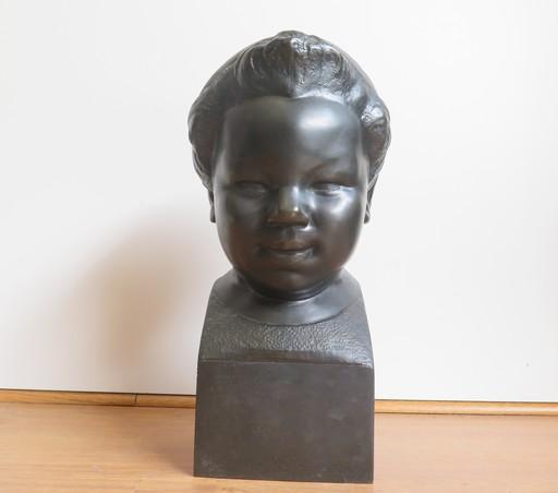 Gaston CONTESSE - Sculpture-Volume - Chérubin