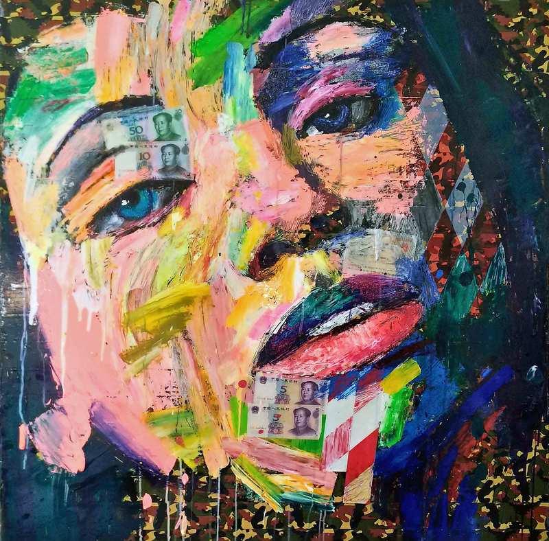 Antonio MURGIA - Painting - Andiamo avanti cambiando continuamente