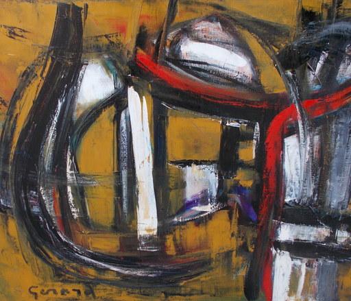 Lydie GÉRARD - Painting - Abstrait
