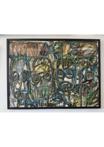 Aboudia Abdoulaye DIARRASSOUBA - Gemälde - Untitled
