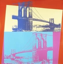 Andy WARHOL - Estampe-Multiple - Brooklyn Bridge (FS II.290)