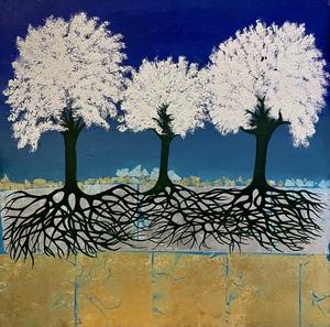 Corine LESCOP - Peinture - Communion Sylvestre