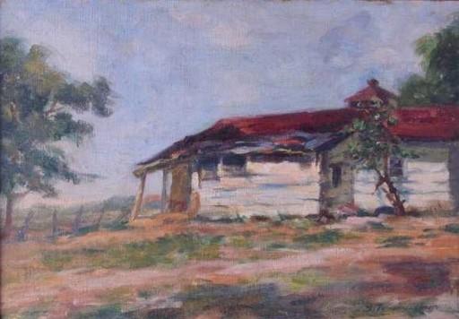 Sylvia FERNANDEZ - Painting - Vieja Casita