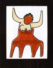 MAN RAY - Estampe-Multiple - Le centaure