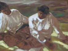Lorenzo ALBINO - Pintura - Lettura