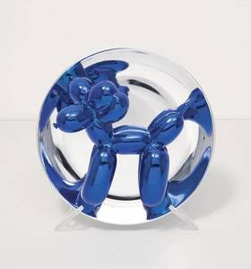 Jeff KOONS - Scultura Volume - Balloon Dog (Blue)