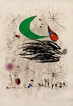 胡安·米罗 - 版画 - Saturnale d' Insectes