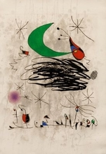 Joan MIRO - Estampe-Multiple - Saturnale d' Insectes