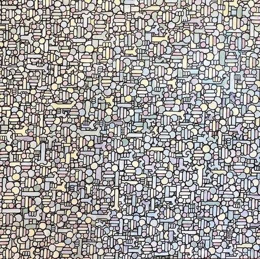 Fabrice ANNEVILLE CONSTANCE - Painting - L'aiguille