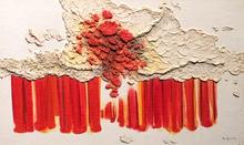 Fernand TOUPIN - Pintura - L'oiseau de feu V