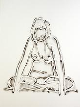 汤姆•韦瑟尔曼 - 版画 - Monica Sitting Cross-Legged