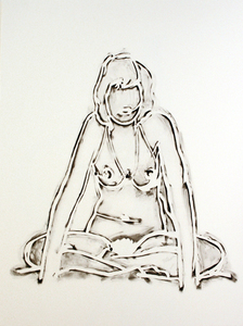 Tom WESSELMANN - Stampa Multiplo - Monica Sitting Cross-Legged